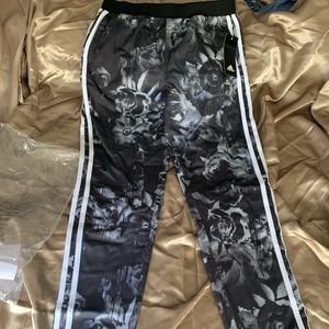 Girls size Adidas track pants